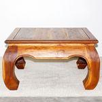 Thai Opium Table 29 x 29 x 16 in H Oak