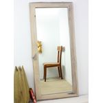 Mirror NE Teak Rectangle 22 x 48 in H (16 x 41)-3